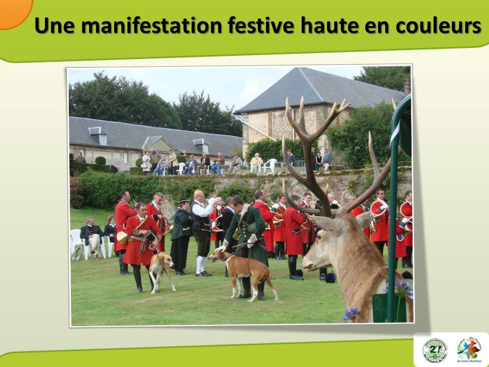 Une manifestation destinée à un large public - De chasseurs et de non chasseurs - De chasseurs et de non chasseurs - De tous horizons - De toutes les générations