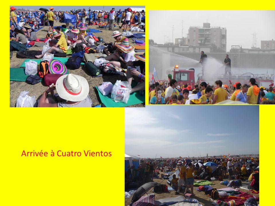 Arrivée à Cuatro Vientos