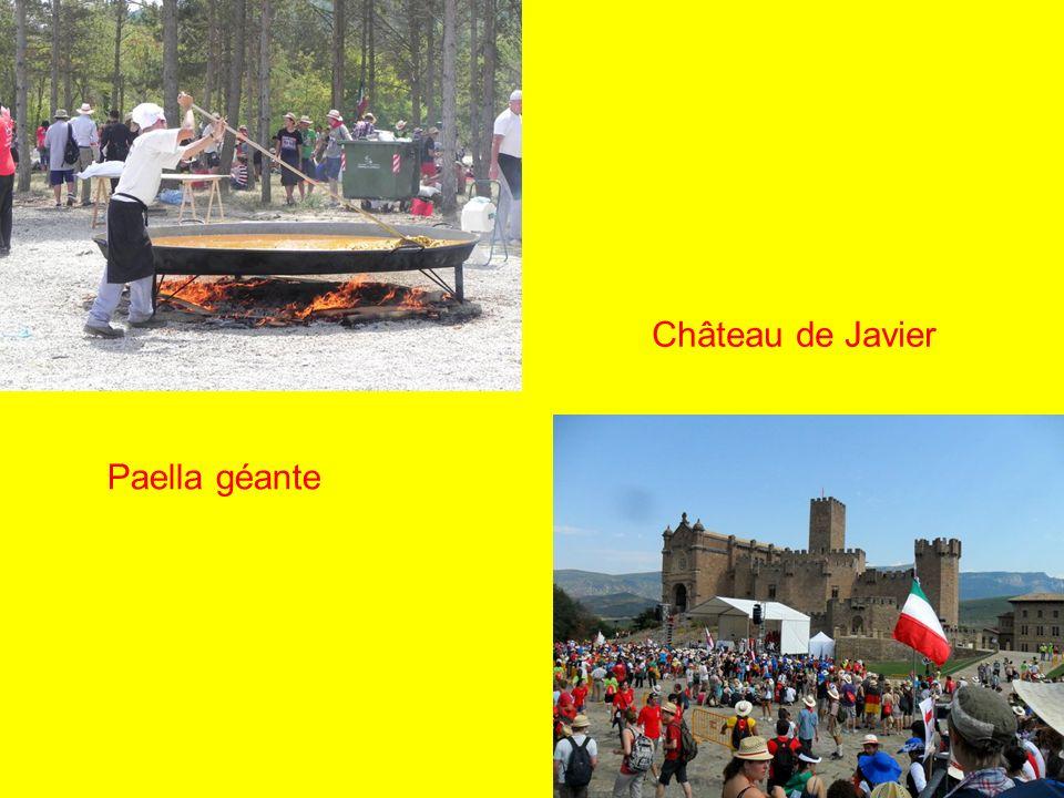 Paella géante Château de Javier