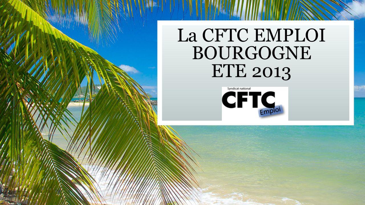 La CFTC EMPLOI BOURGOGNE ETE 2013 Sous-titre