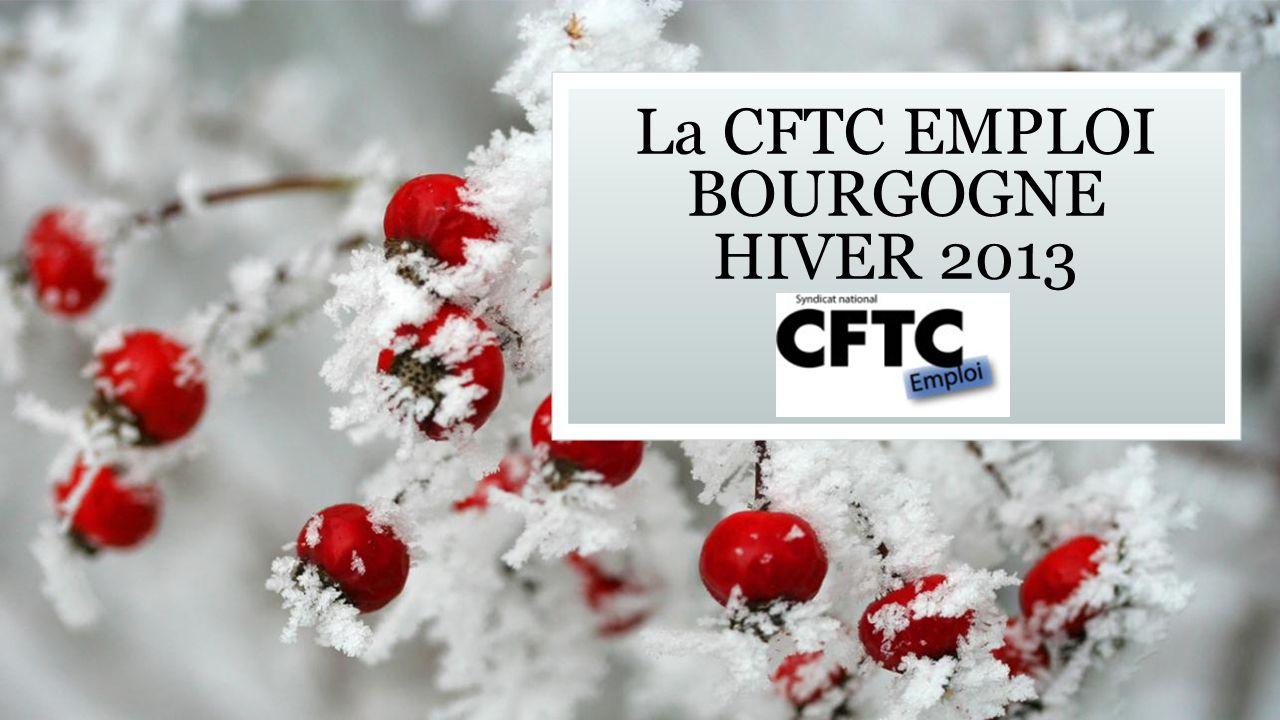 La CFTC EMPLOI BOURGOGNE HIVER 2013 Sous-titre
