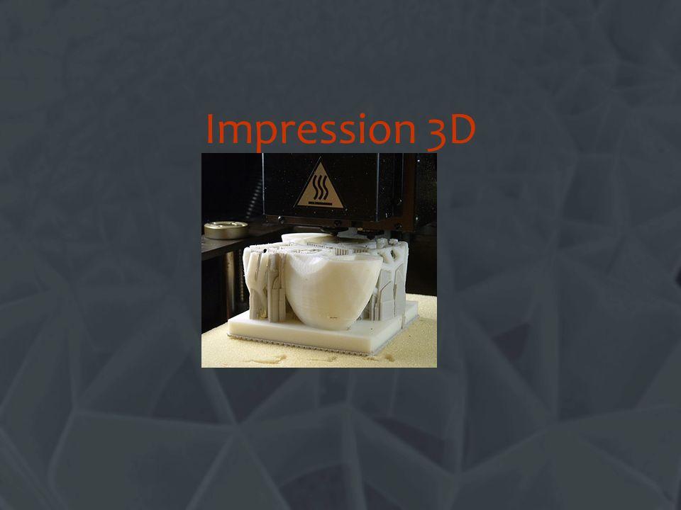 Limpression 3D, cest quoi ? Un autre nom pour le « prototypage rapide » ou « RP »