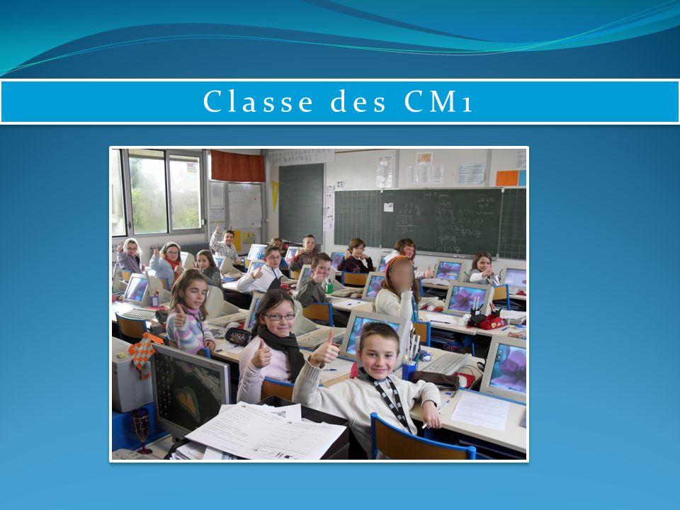 Classe des CM1