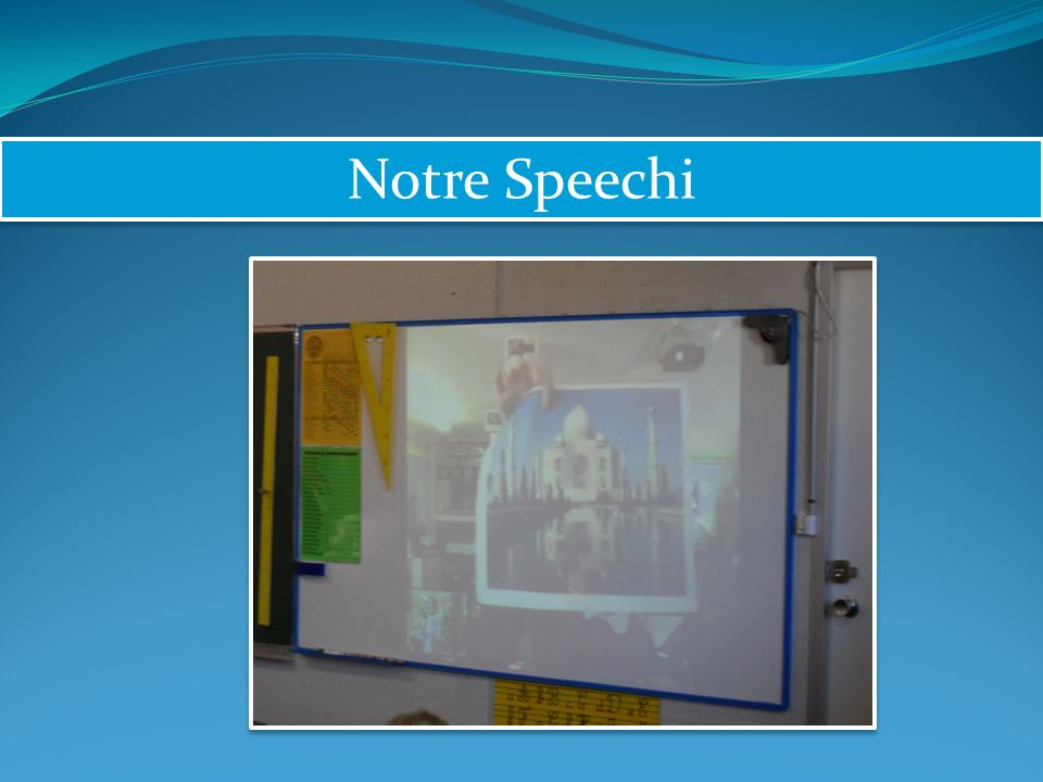Notre Speechi