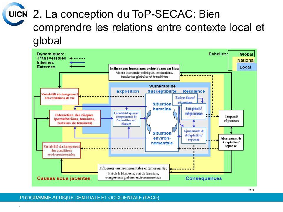 PROGRAMME AFRIQUE CENTRALE ET OCCIDENTALE (PACO) 8 3.