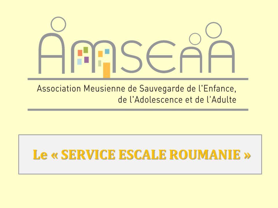 SERVICE ESCALE ROUMANIE AMSEAA Pour chaque module, le processus PSI va accompagner le déroulement de la prise en charge éducative en sollicitant la participation du jeune, de sa famille et de lensemble des personnes ressources.