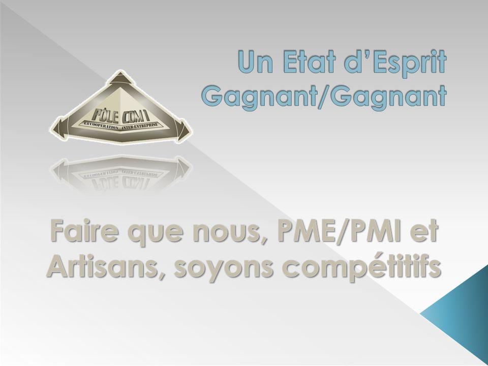 Pôle Com1 est un réseau de coopération Inter-Entreprises Pôle Com1 au 15/07/2012 236 bénéficiaires(de 1à 800 personnes) 5507 salariés 37,8 M de capital social 402 M de CA annuel 65 fournisseurs … et le réseau sétend tous les jours
