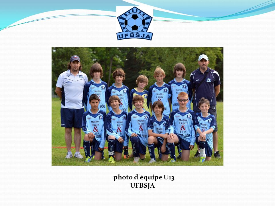 photo d équipe U13 UFBSJA