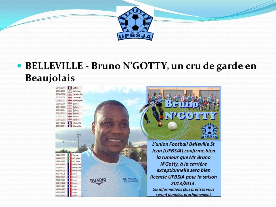 BELLEVILLE - Bruno NGOTTY, un cru de garde en Beaujolais
