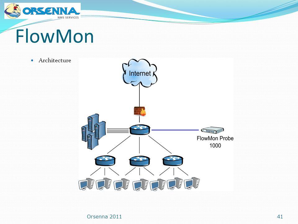 FlowMon Architecture Orsenna 201141