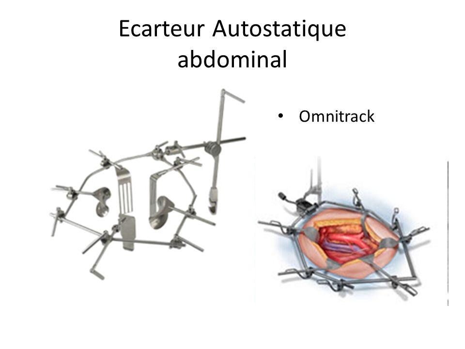 Ecarteur Autostatique abdominal pour écarter la parois abdominale cible Automatique