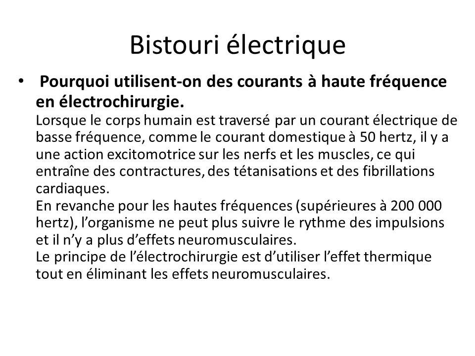 Bistouri électrique bipolaire Manche porte électrode classique Manche porte électrode coelio