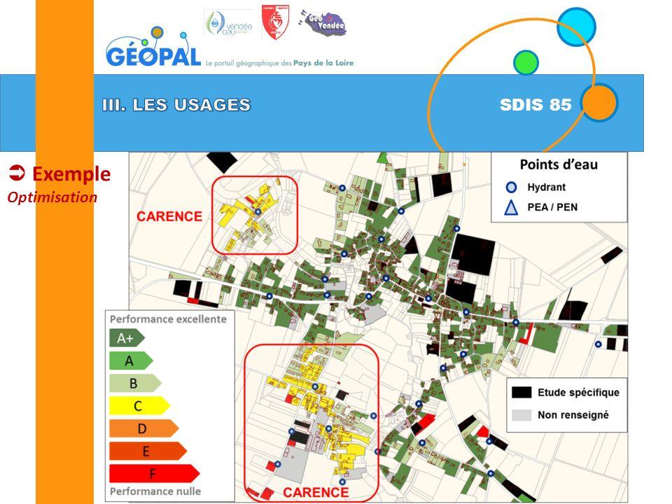 SDIS 85 Exemple Optimisation