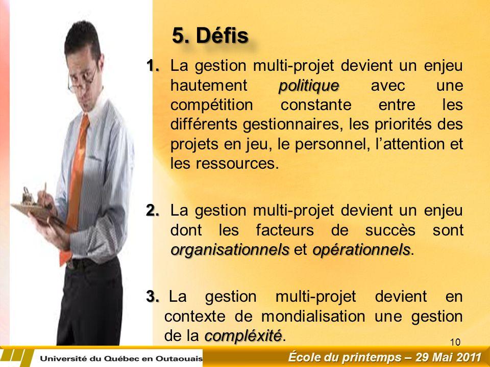 5.Défis 1.