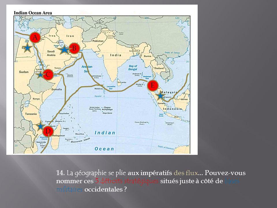 14. La géographie se plie aux impératifs des flux...