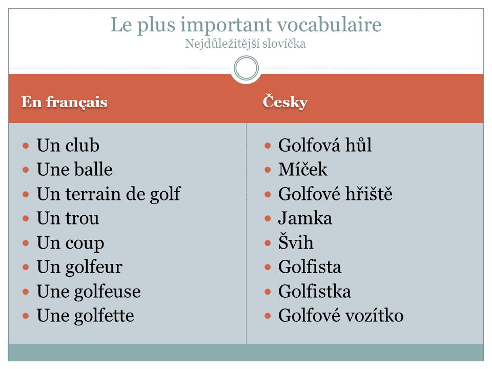 La source principal: Wikipédia Je vous remercie de votre attention (Une golfette, un golfeur et des clubs)