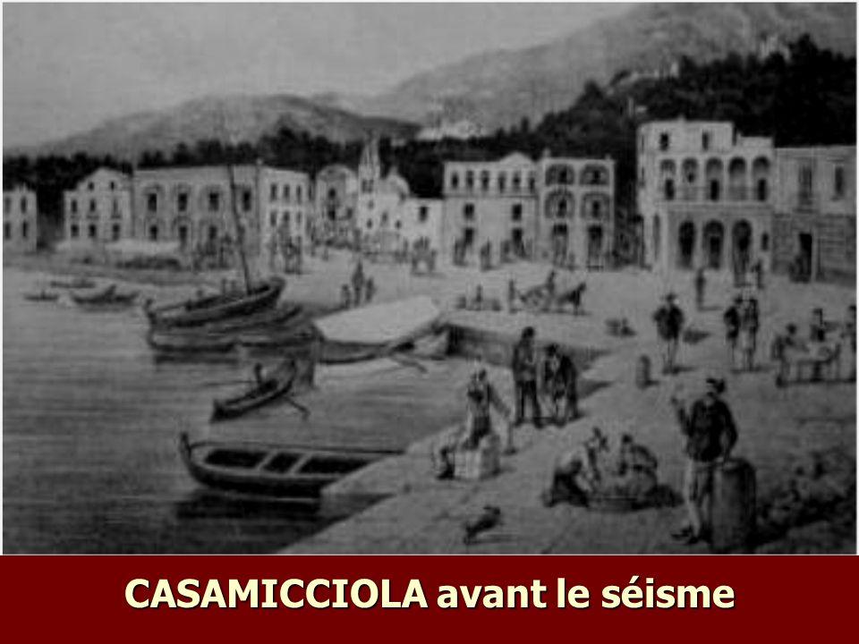 CASAMICCIOLA avant le séisme