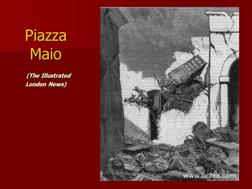 Piazza Maio (The Illustrated London News)