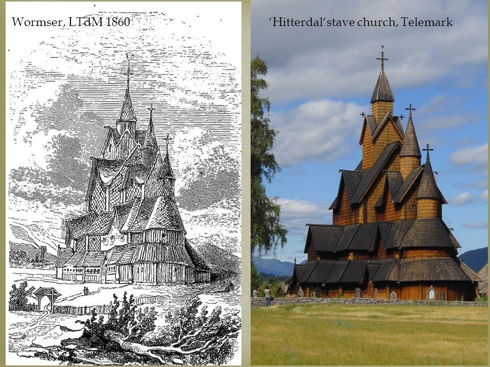 www.jules-verne.no Visual intertexts Wormser, LTdM 1860Hitterdalstave church, Telemark