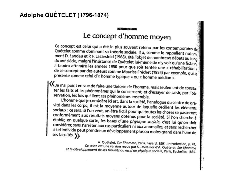 Adolphe QUÉTELET (1796-1874)