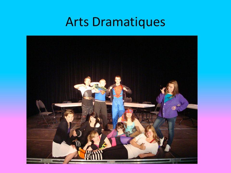 Arts Dramatiques