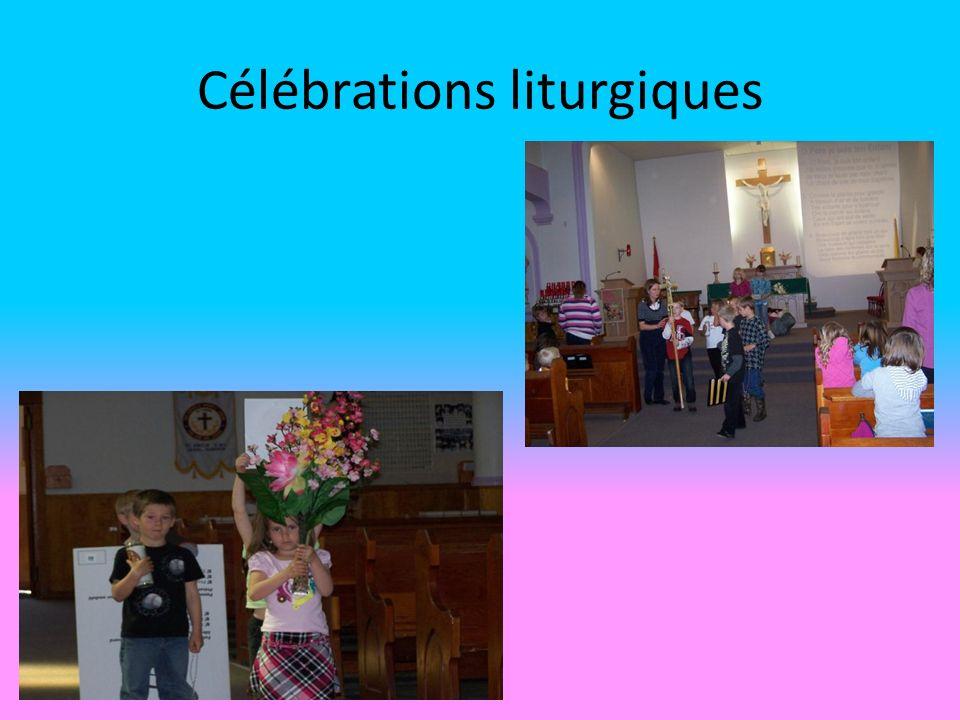 Célébrations liturgiques
