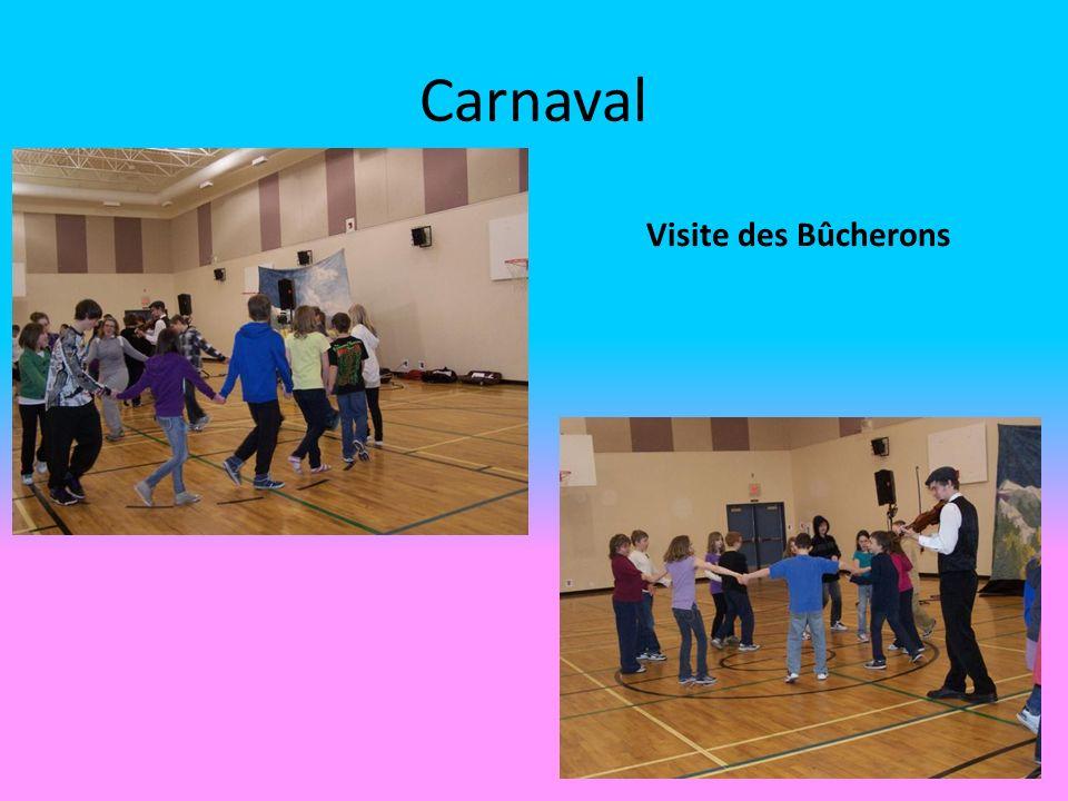 Carnaval Visite des Bûcherons
