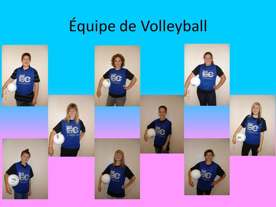 Équipe de Volleyball