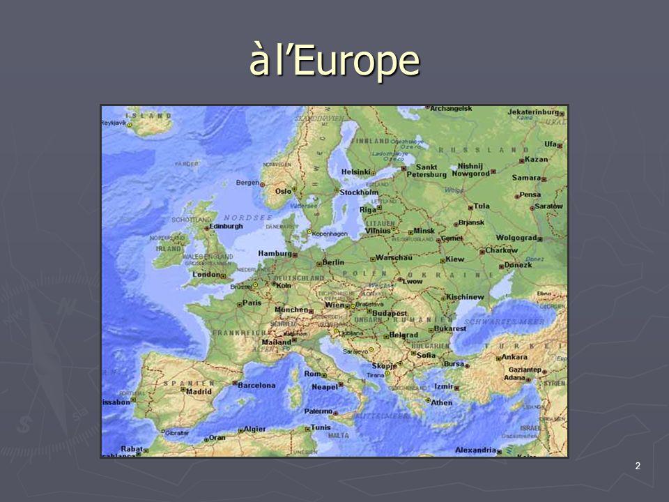 12 Hérodote, au V e siècle avant J.-C., se posait déjà la question : « Le plus curieux,disait-il, c est que la Tyrienne Europe était de naissance asiatique et n est jamais venue sur cette terre que les Grecs appellent maintenant Europe.