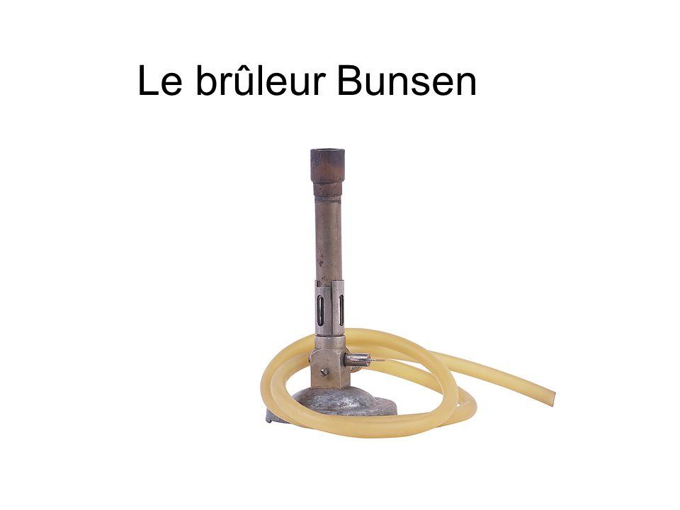 Le brûleur Bunsen