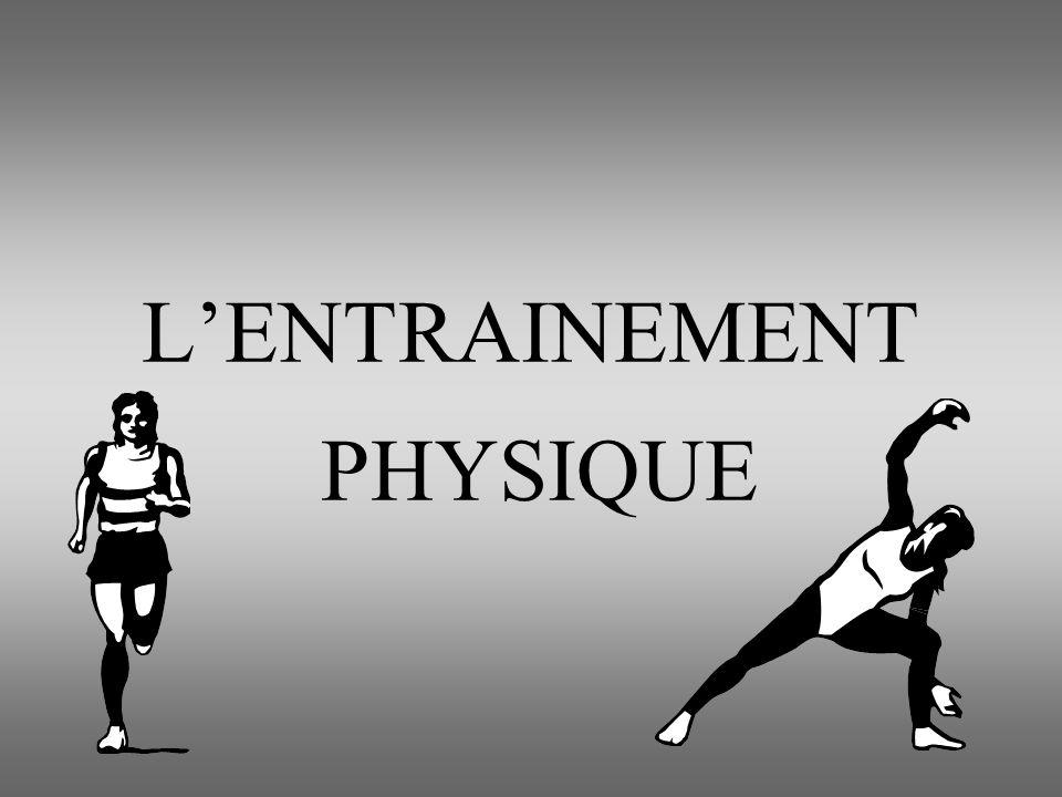 Quelques définitions Préparation physique Développement systématique de la condition physique et des qualités physiques qui la sous-tendent - C.