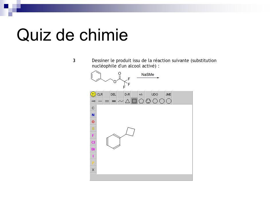 Quiz de chimie