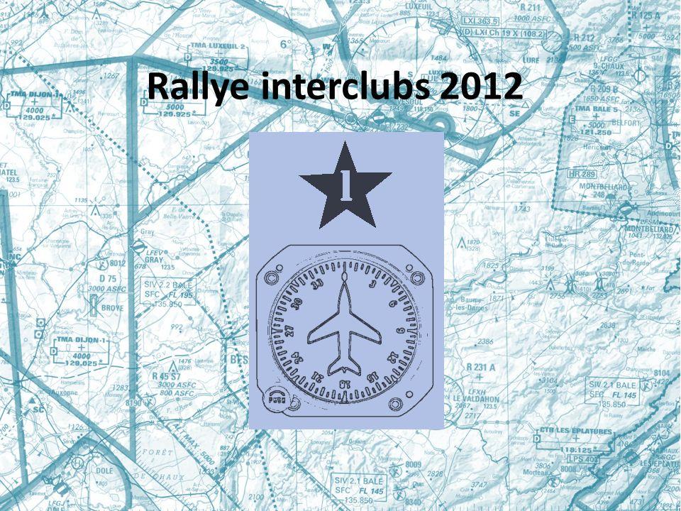 Rallye interclubs 2012