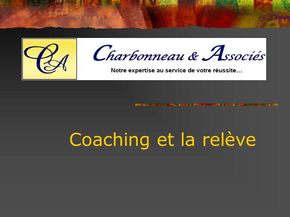 PROCESSUS DE COACHING 1.Gagner le droit de coacher (confiance) 2.