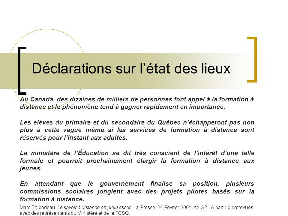 13 Brève histoire de la FD au Québec 1995, les services aux élèves vont dans les CS