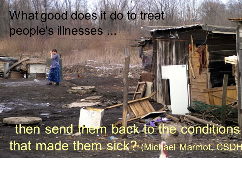 What good does it do to treat people s illnesses...