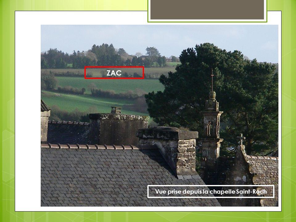 ZAC Vue prise depuis la chapelle Saint-Roch