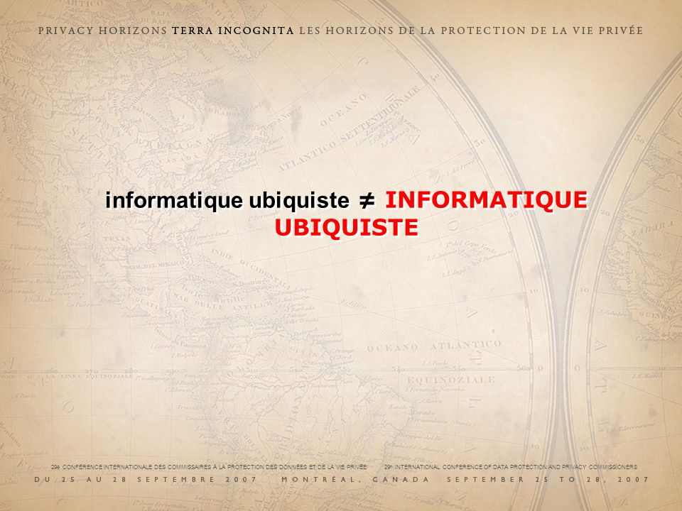 informatique ubiquiste INFORMATIQUE UBIQUISTE