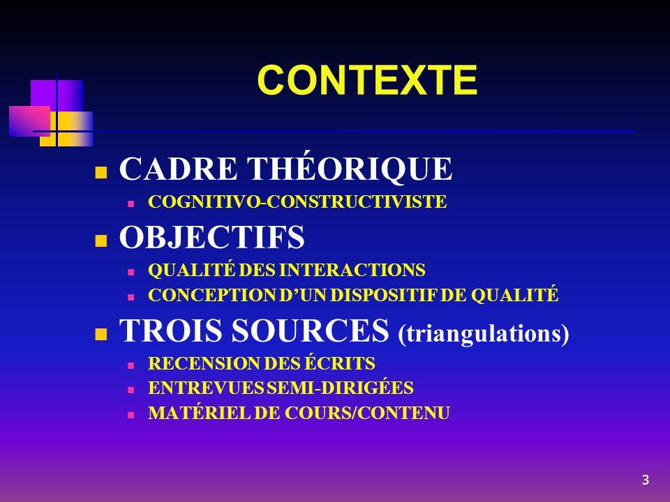 DÉFINITIONS (recension et anasynthèse) Qualité Valeur positive accordée à des caractéristiques dun objet, dune personne ou dun phénomène quant à leur aptitude à satisfaire des besoins ou des attentes.