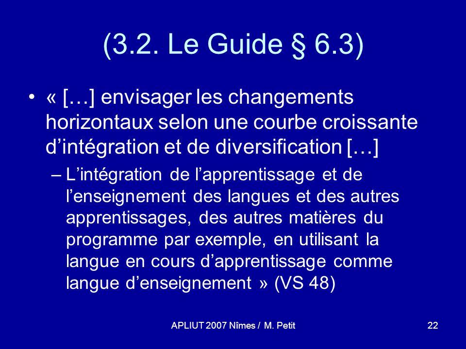 APLIUT 2007 Nîmes / M. Petit22 (3.2.
