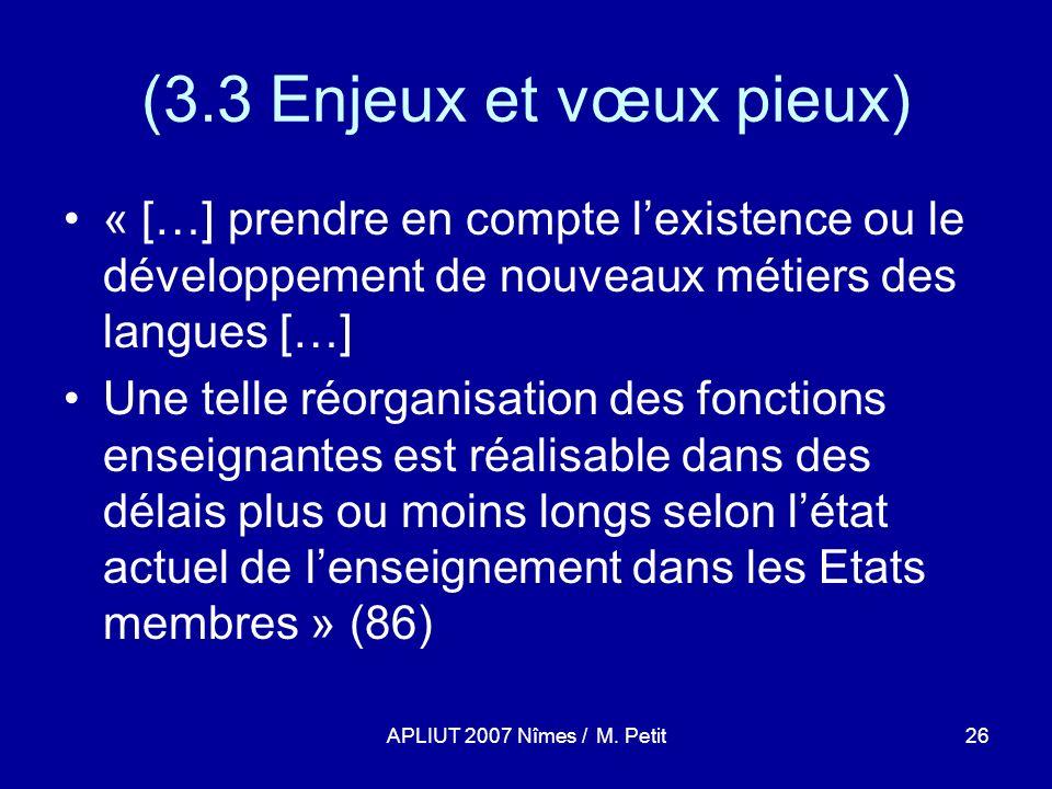 APLIUT 2007 Nîmes / M.