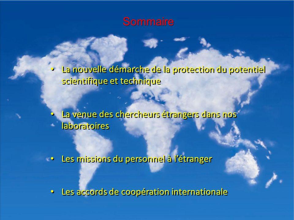 CNRS INSIS 08/04/2013 La nouvelle démarche de la protection du potentiel scientifique et technique La venue des chercheurs étrangers dans nos laborato