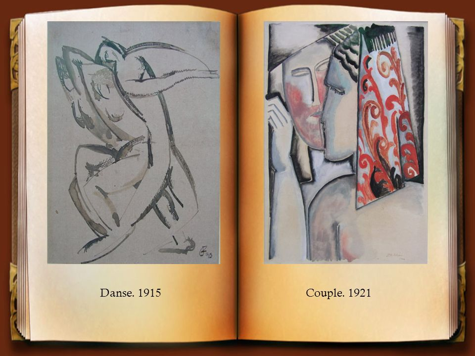 Danse. 1915Couple. 1921