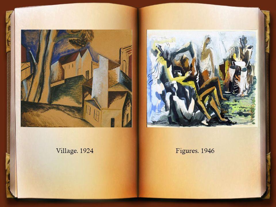 Village. 1924Figures. 1946