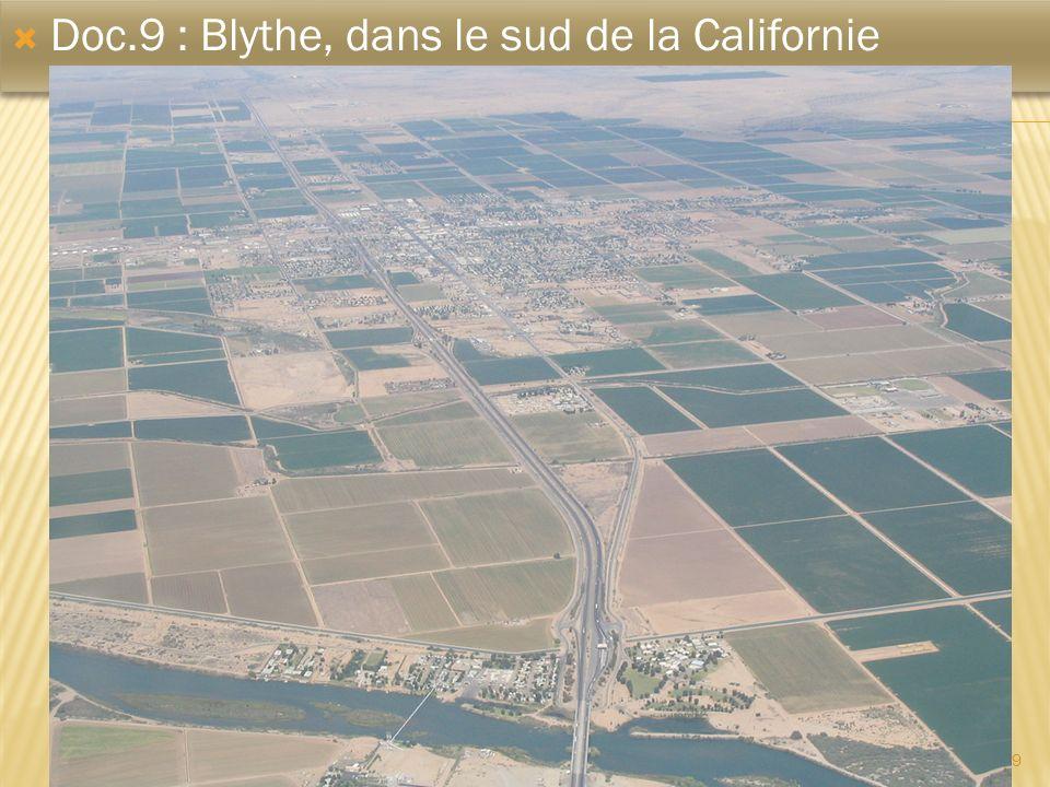 9 Doc.9 : Blythe, dans le sud de la Californie