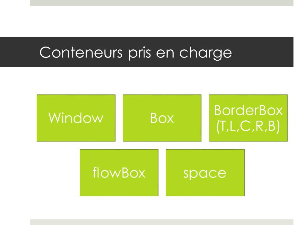 Conteneurs pris en charge WindowBox BorderBox (T,L,C,R,B) flowBoxspace