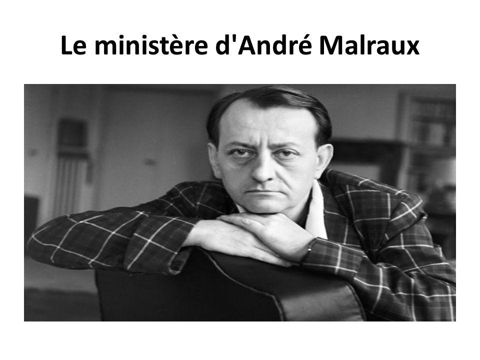 Le ministère d'André Malraux