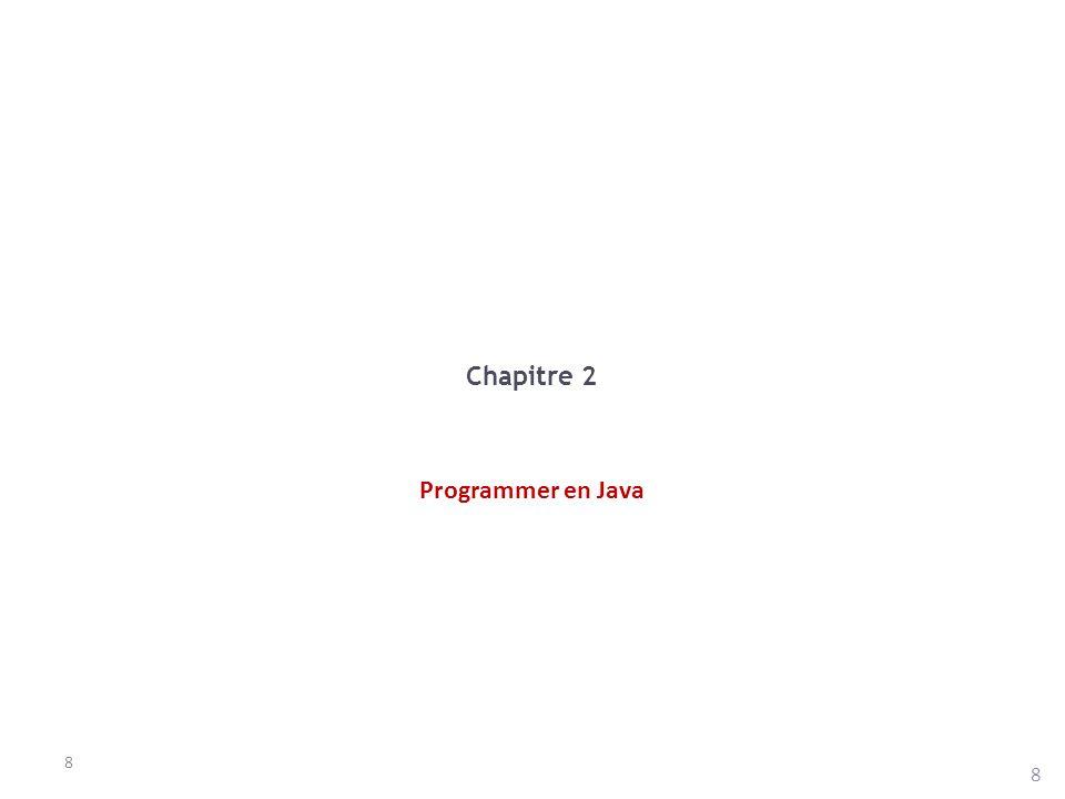 Classe String Autres méthodes utiles : – startsWith(), endsWith() : renvoient true si la chaîne commence ou se termine par la chaîne passée en paramètre.