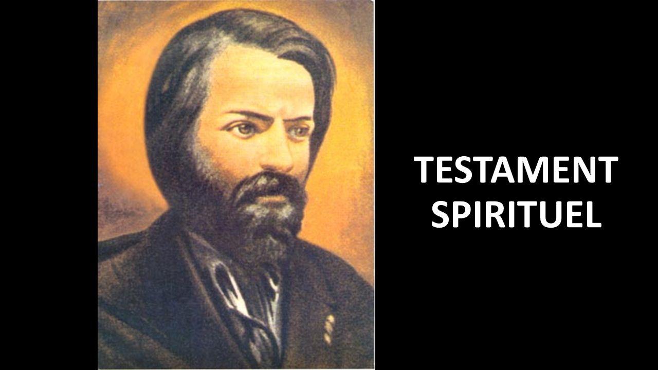 TESTAMENT SPIRITUEL