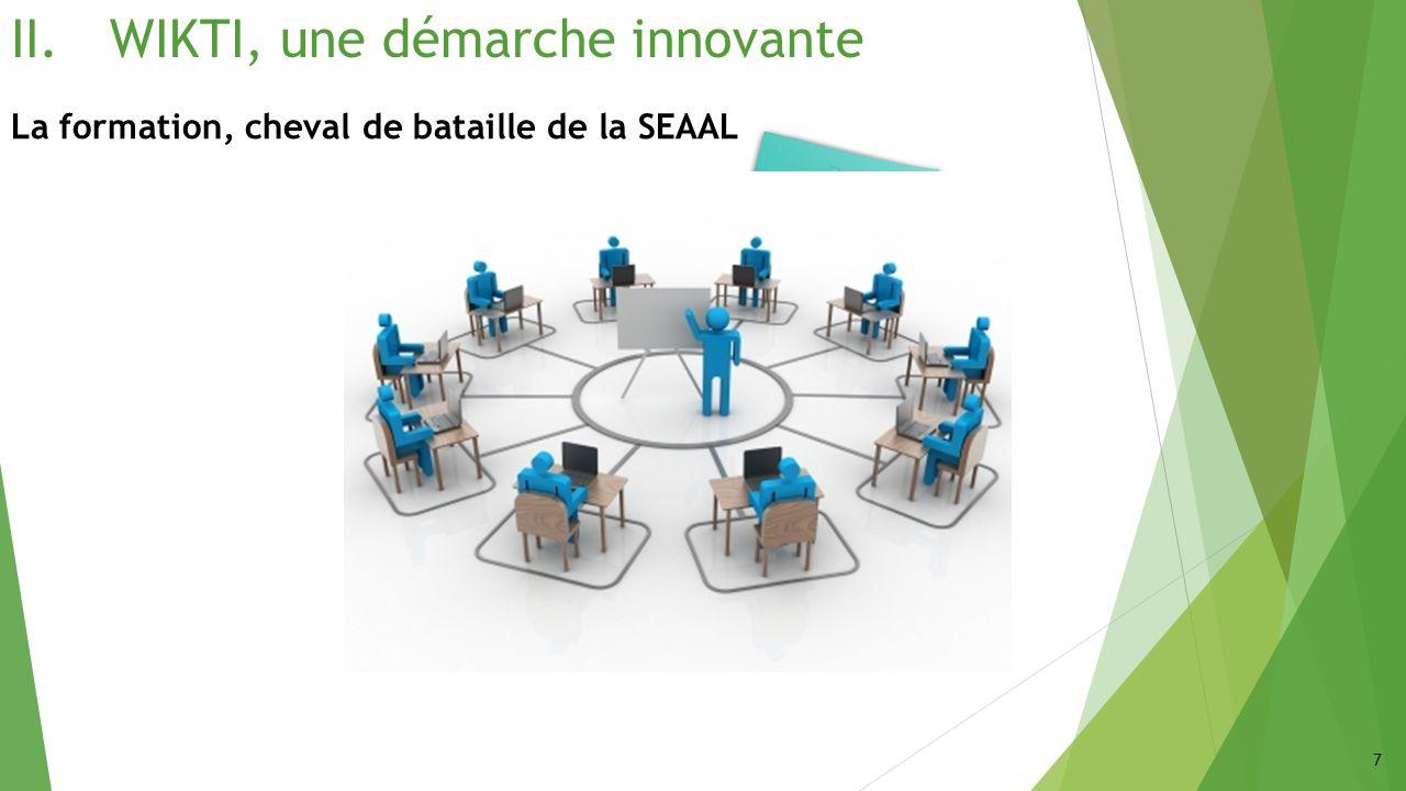 III.OPT, vers lautonomie de SEAAL La formation Le blended-learning 18